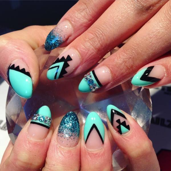 Funky Nail Art Design Ideas Trends - Premium Psd Vector