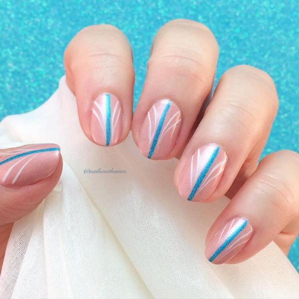 Neutral Nails Art Designs
