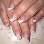 neutral nail art design ideas