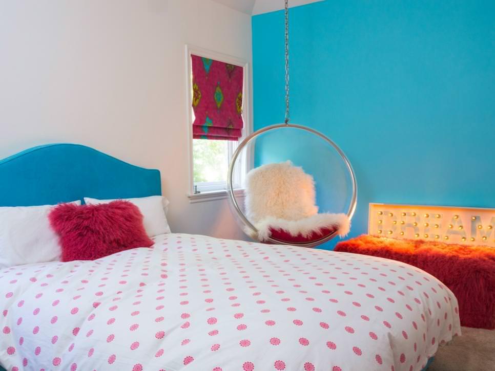 23+ Chic Teen Girls Bedroom Designs, Decorating Ideas