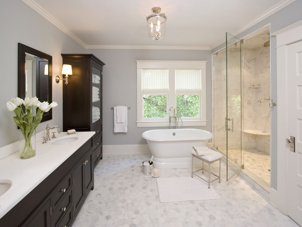 22 Nature Bathroom Designs Decorating Ideas  Design Trends  Premium PSD Vector Downloads