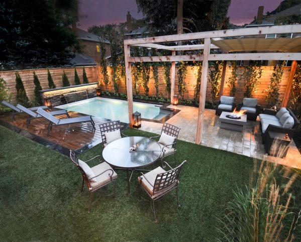 small backyard patio design ideas 24+ Small Swimming Pool Designs, Decorating Ideas | Design Trends - Premium PSD, Vector Downloads