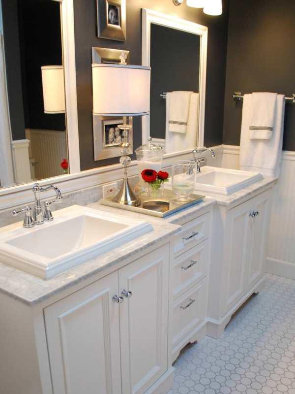 Double Bathroom Vanity Design Ideas