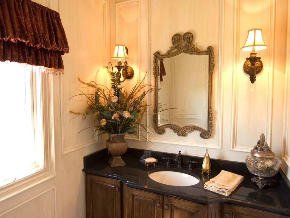 23 Black and Gold Bathroom Designs Decorating Ideas