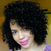 black curly hairstyle ideas