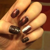 25+ Brown Nail Art Designs, Ideas | Design Trends ...