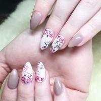 27+ Floral Nail Art Designs, Ideas | Design Trends ...
