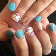 floral nail art design ideas