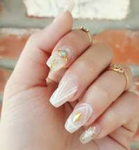27+ Prom Nail Art Designs, ideas