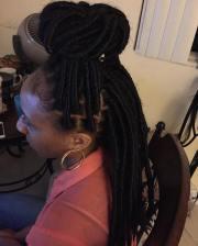 kinky twist hairstyle design