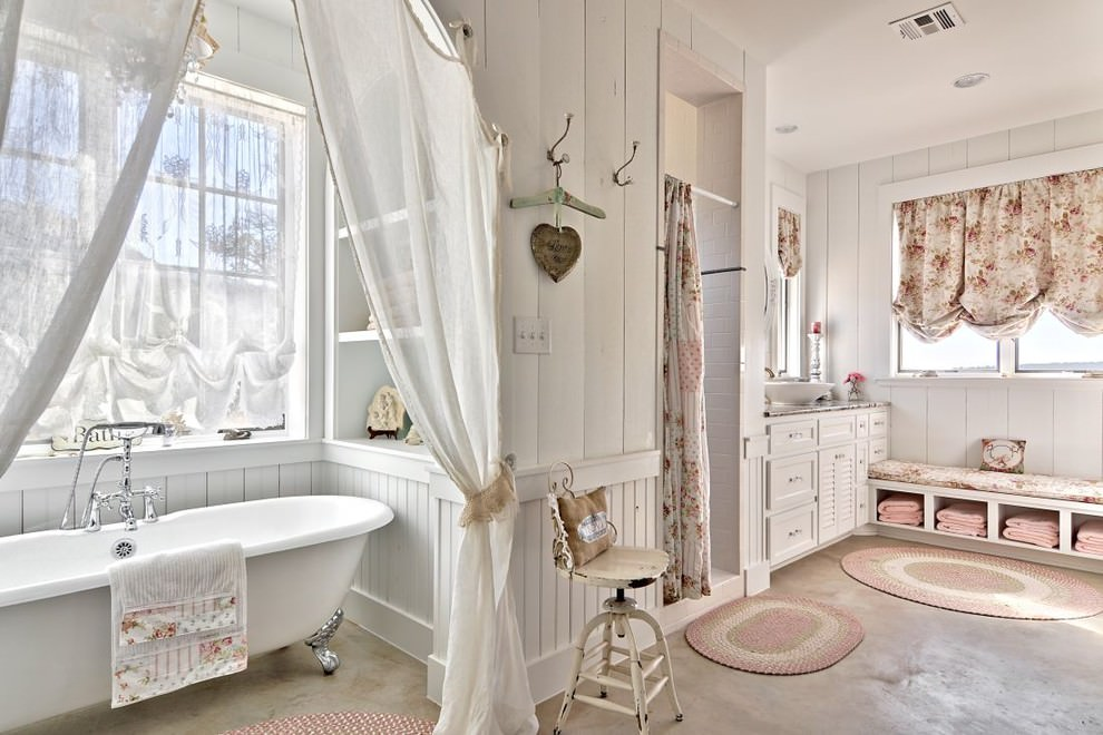 22 Floral Bathroom Designs Decorating Ideas  Design Trends  Premium PSD Vector Downloads