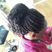 kinky twist hairstyle design
