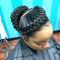 26+ Goddess Braided Hairstyle Designs   Design Trends ...