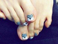 26+ Toes Nail Art Designs, Ideas | Design Trends - Premium ...