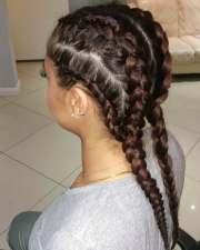 goddess braided hairstyle design