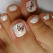 toes nail art design ideas