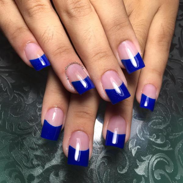 Simple Acrylic Nails Solid Colors Imgurl