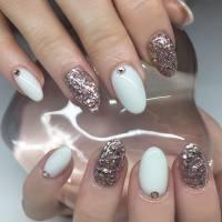 25+ White Acrylic Nail Art Designs, Ideas | Design Trends ...