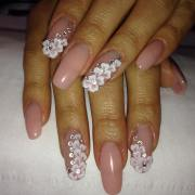3d acrylic nail art design
