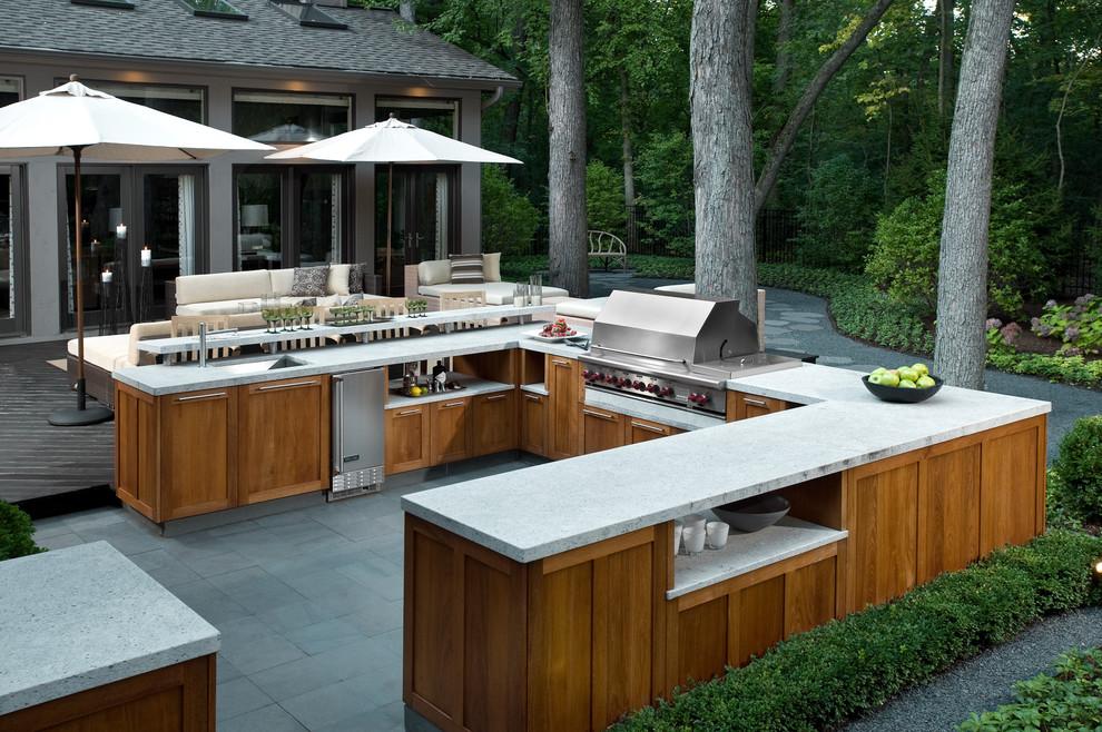 22 Outdoor Kitchen Bar Designs Decorating Ideas Design Trends
