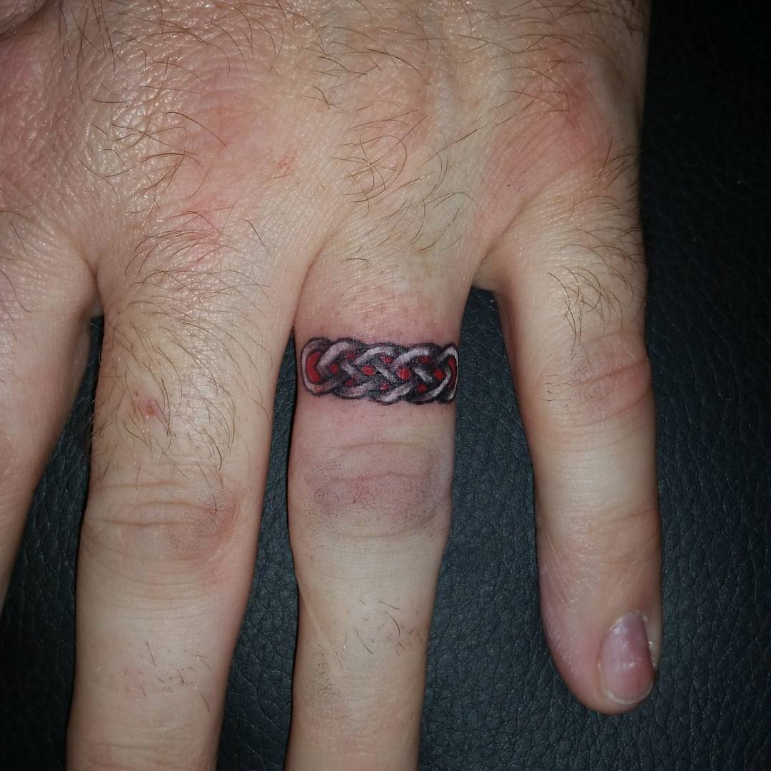 Wedding Ring Tattoo Ideas For Him