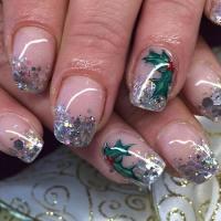 29+ Glitter Acrylic Nail Art Designs, Ideas | Design ...