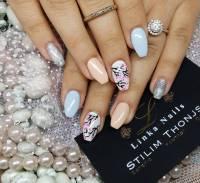 29+ Glitter Acrylic Nail Art Designs, Ideas