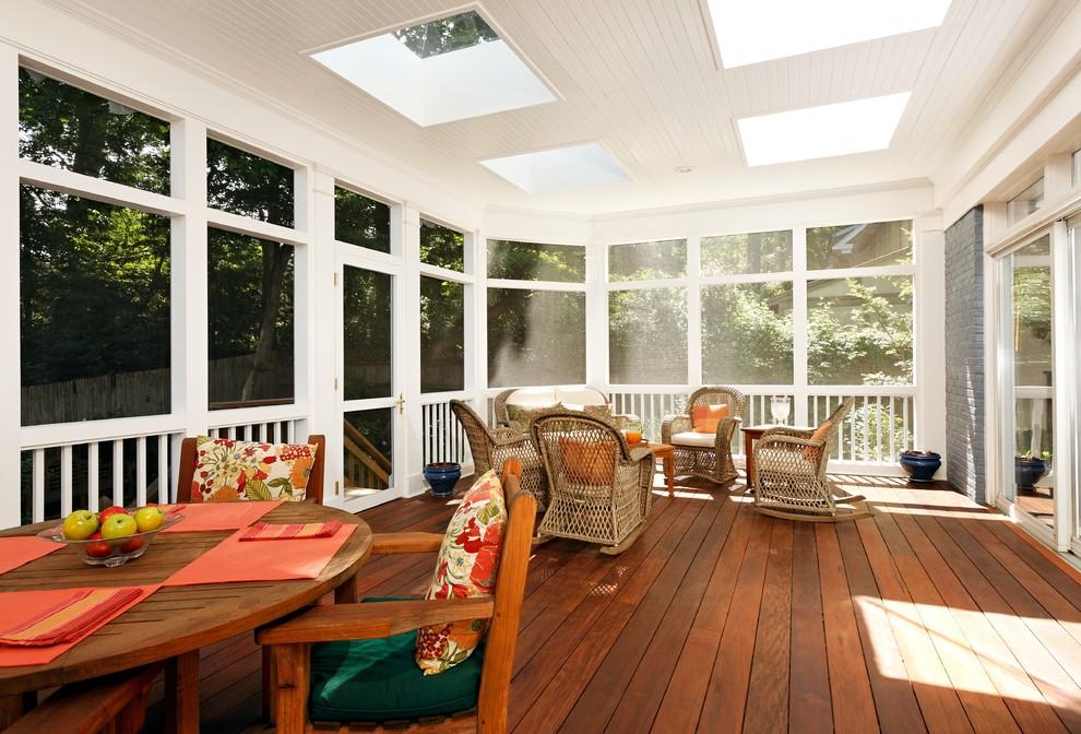 Enclosed Deck Designs