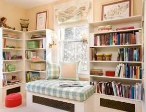 interior study area wall designs reading library children eclectic areas corner kid nook space window idea decor libraries read books