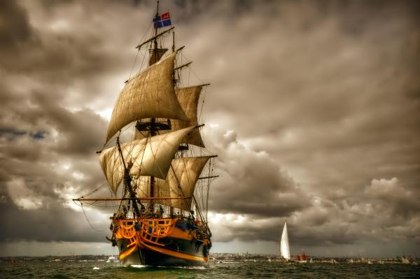 Hd Sailing Ship Wallpapers Backgrounds