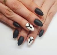 29+ Black And White Acrylic Nail Art Designs , Ideas ...