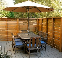 Patio Privacy Fence Ideas