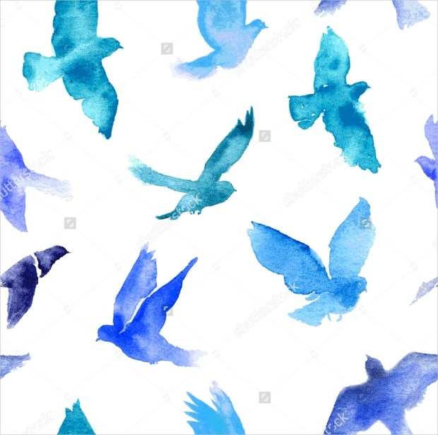 Cute Cartoon Bird Wallpapers 26 Watercolor Patterns Textures Backgrounds Images