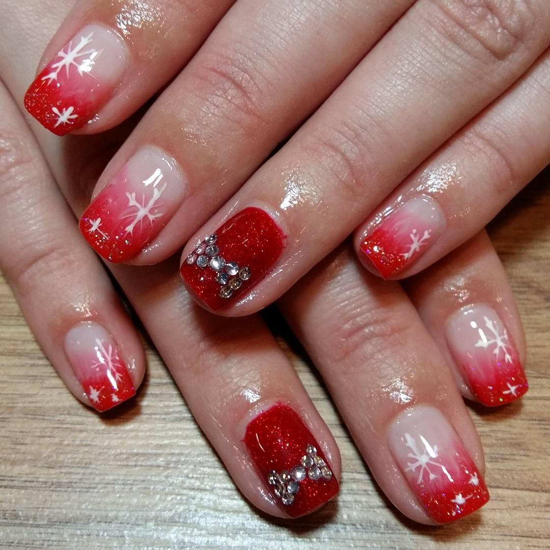 Red Nail Art Designs , Ideas