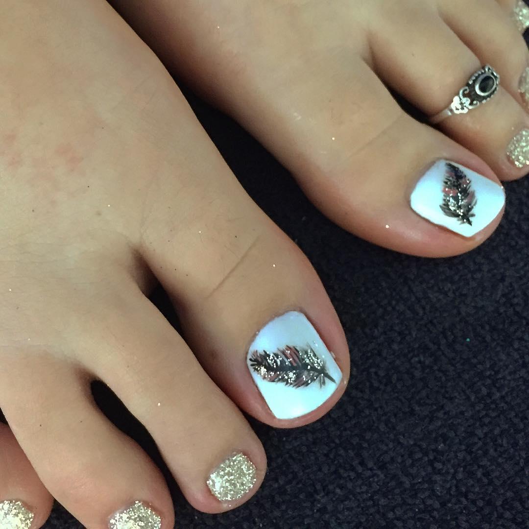 26 Summer Toe Nail Art Designs Ideas Design Trends Premium