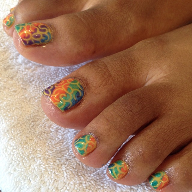 Summer Hand And Toe Nail Art Design Ideas 2017