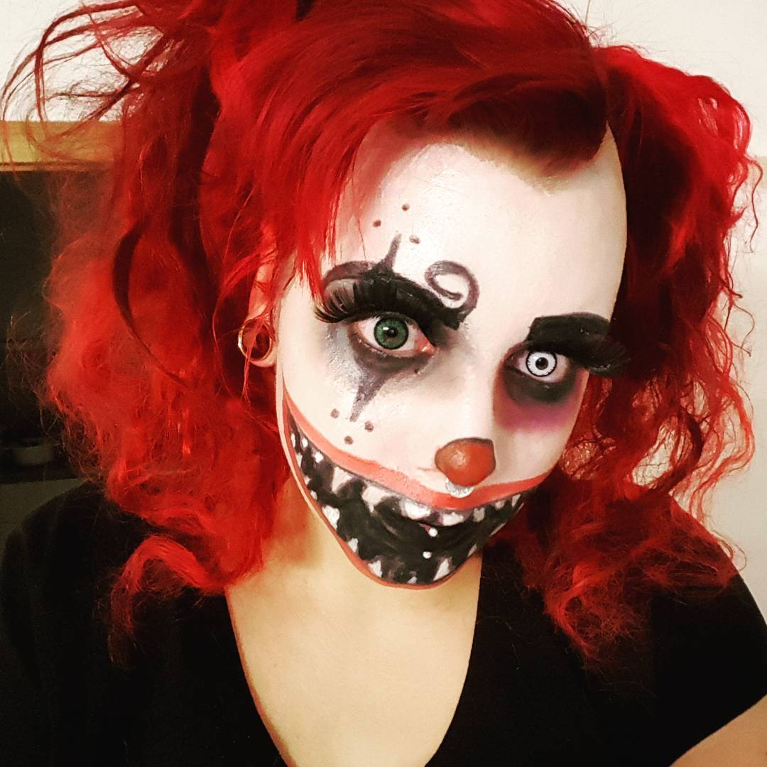 Creepy Jester Girl Wallpaper 28 Harlequin Makeup Designs Ideas Costumes Design