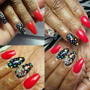 red carpet nail design ideas