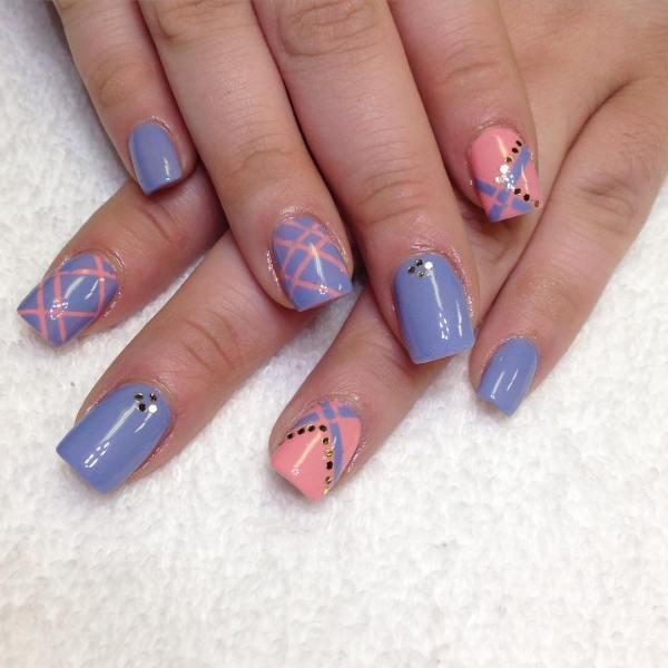Summer Nail Art Design Trends - Premium Psd