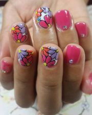 gel summer nail design ideas