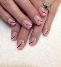 22+ Frenchtip Nail Art Designs, Ideas