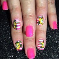 27+ Easy Summer Nail Art Designs, Ideas