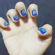 easy summer nail art design