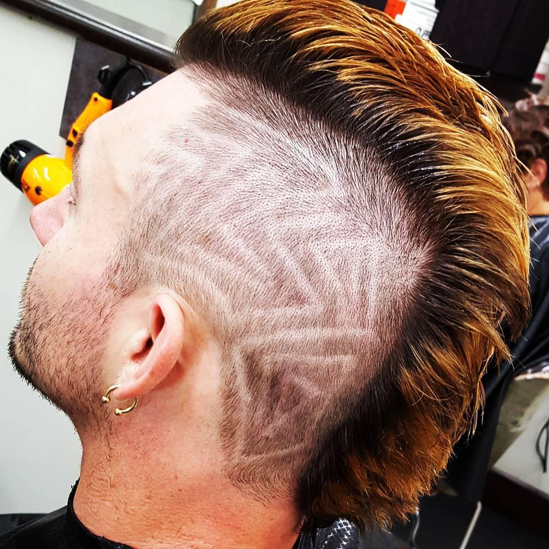 27 Mens Faux Hawk Haircut Ideas Designs Hairstyles