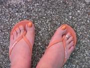 fall toe nail art design
