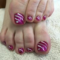 Simple Toe Nail Art - Nails Gallery