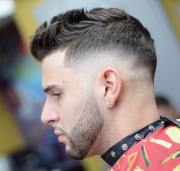 side taper haircut design