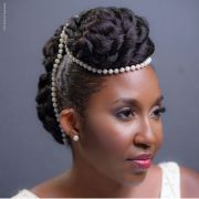 natural updo hairstyle design