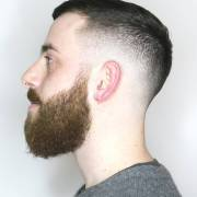 short fade haircut design