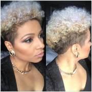 natural tapered haircut design